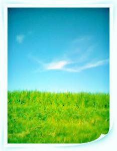 青い空白い雲©摂理hiroko