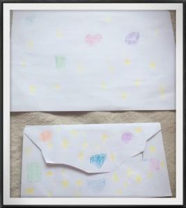 封筒©摂理hiroko