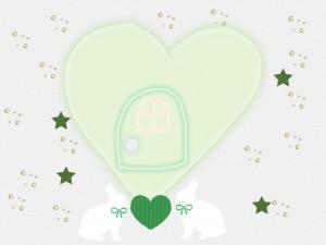 愛の扉緑©摂理hiroko