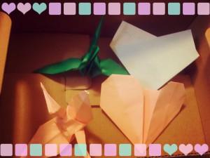 折り紙てがみ©摂理hiroko