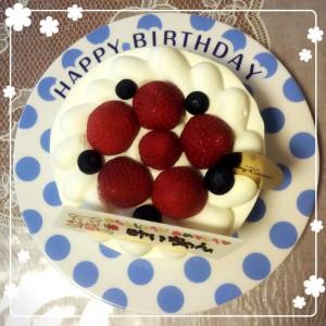 誕生日ケーキ@摂理hiroko