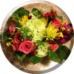 誕生日のお花@摂理hiroko