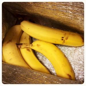 バナナ冷蔵保存