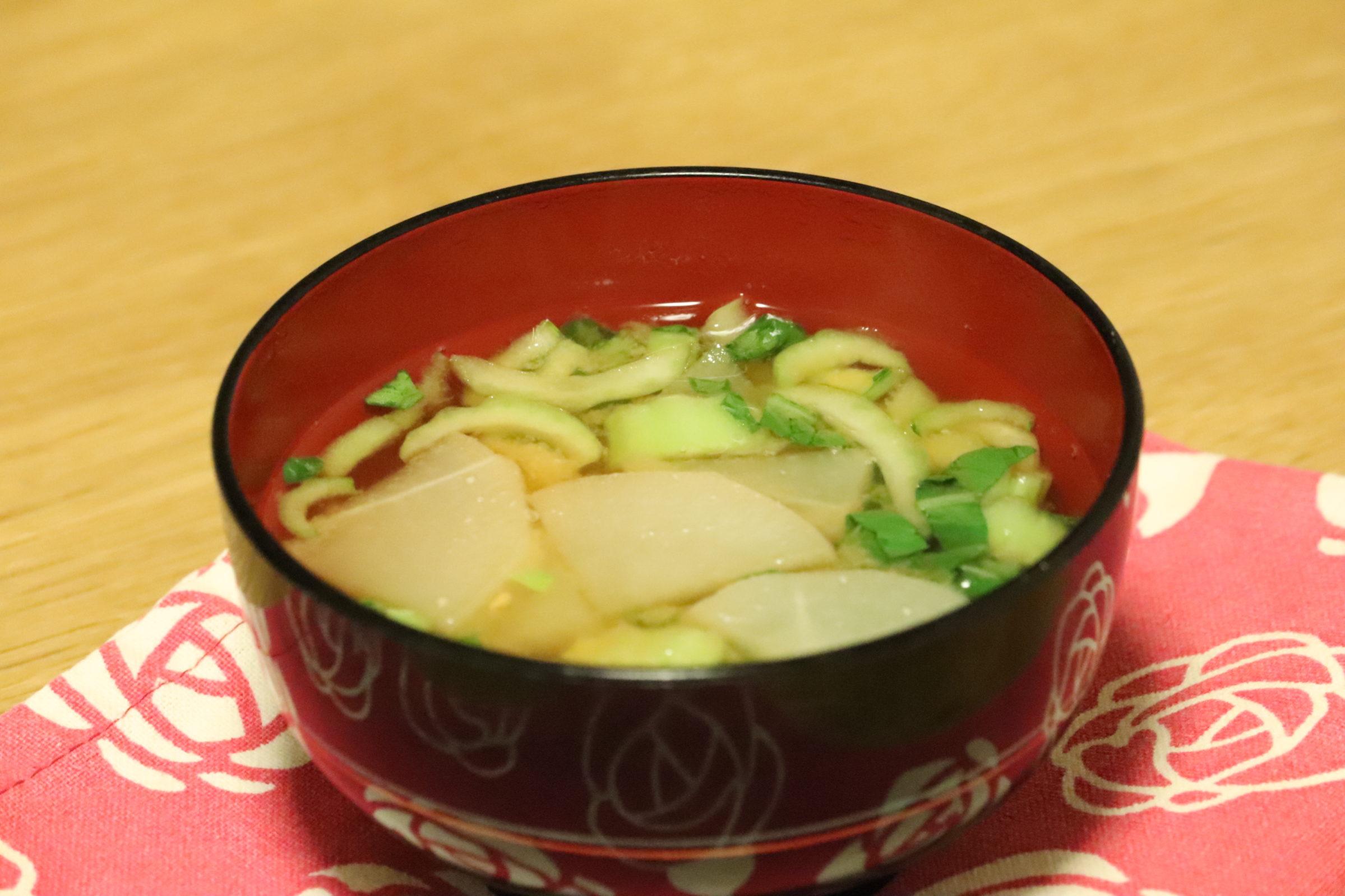 菜 スープ チンゲン
